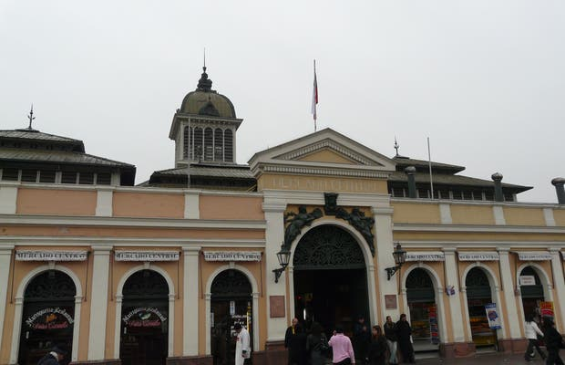 Il Mercato Centrale di Santiago del Cile