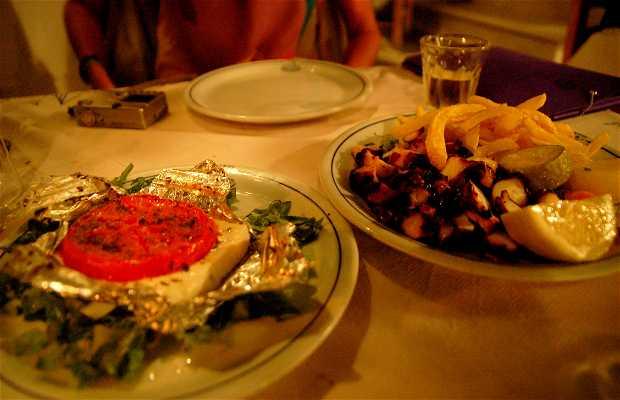 Le restaurant Taverna O Apostolis