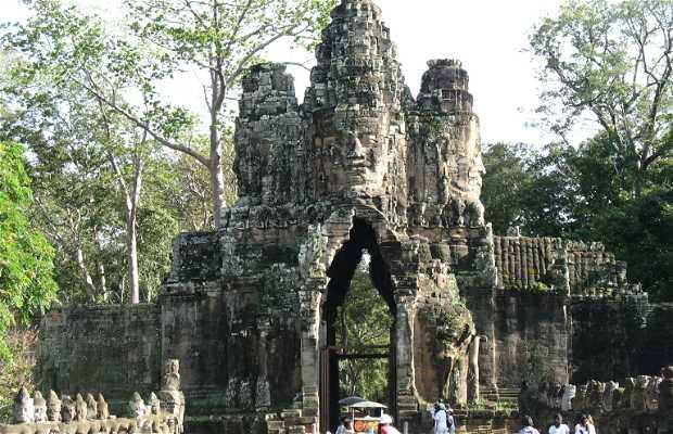 Porta Meridionale di Angkor Thom