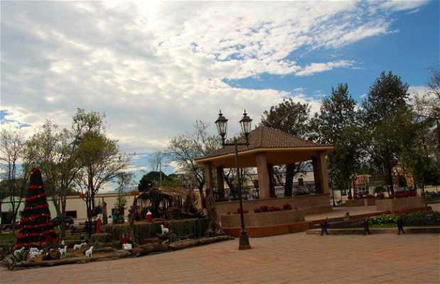 Plaza Municipal de Hualahuises
