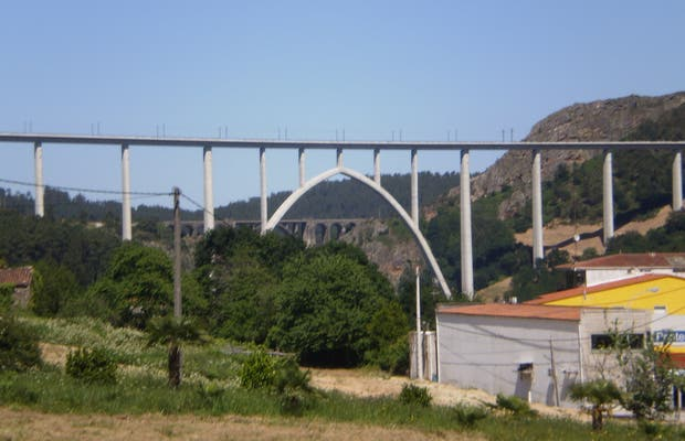 Viaduct over Ulla River