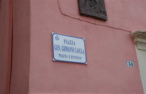 Plaza Generale Giovanni Casula