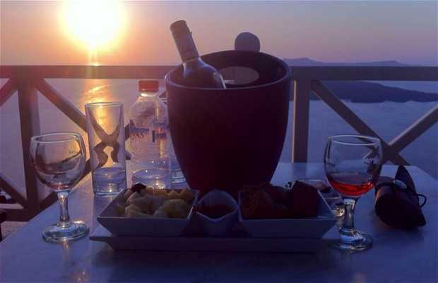 Dégustation de vins à Pyrgos