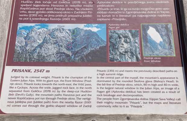 Mirador Monte Prisani