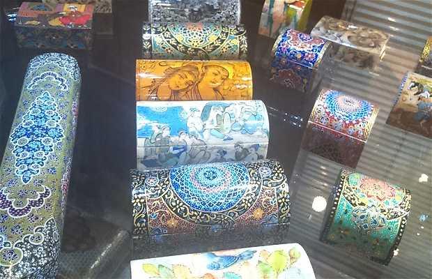 Zona artística del Gheisarye Bazar