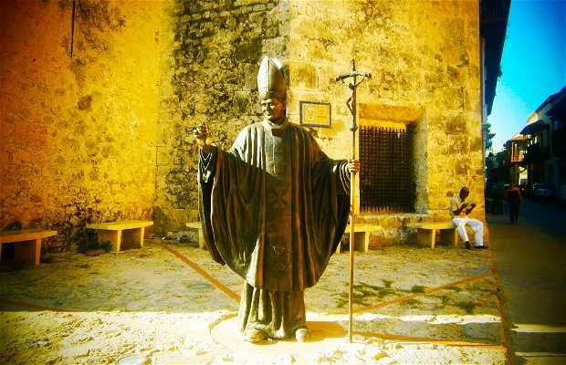 Escultura del Papa Juan Pablo II