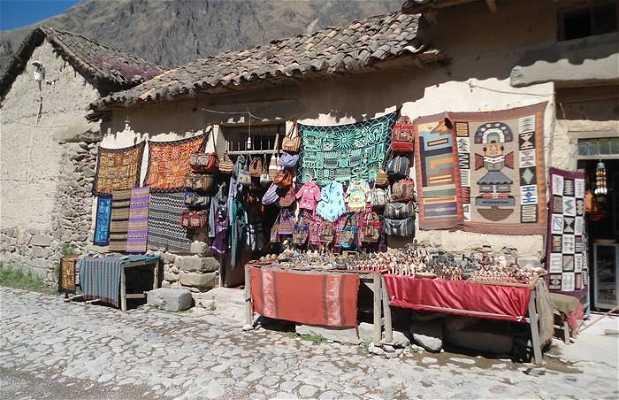 Le marché d'Ollantaytambo
