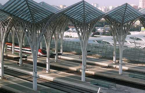 Gare do Oriente - Train Station