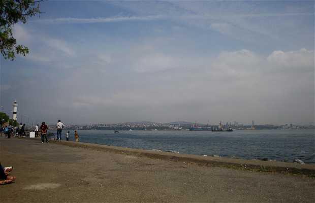 Promenade le long de la Mer de Marmara
