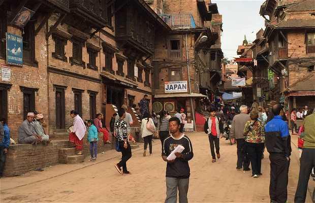 Quartier des hippies Katmandou