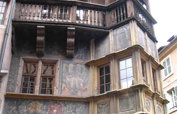 La Casa Pfister di Colmar