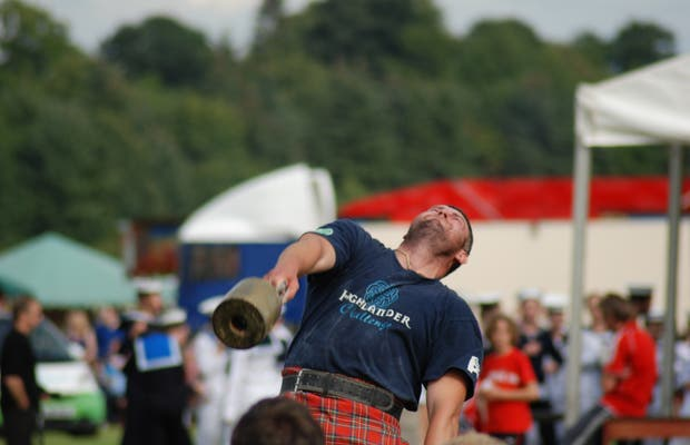 Highland Games in Bridge of Allan