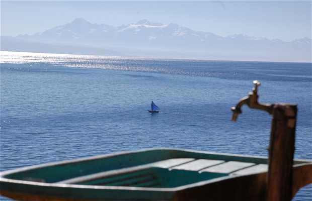 île du Soleil sur le lac Titicaca