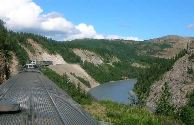 Tren a Fairbanks