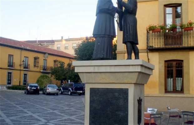 """Escultura """"Las Cabezadas"""""""