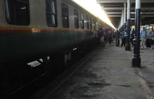 Estación de trenes de Nairobi