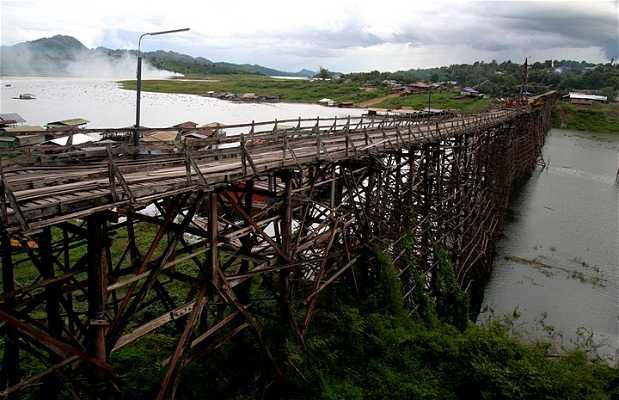 pont de madera Mon