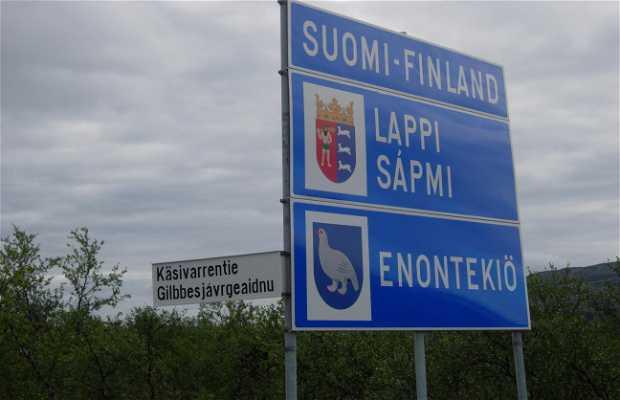 Confine Norvegia - Finlandia