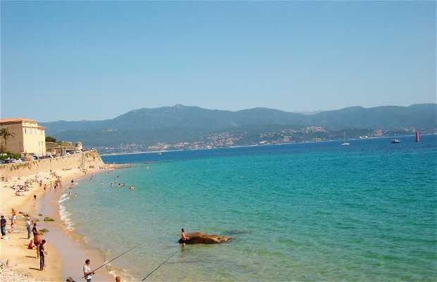 Playa de Ajaccio