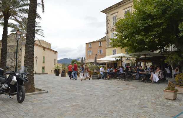 Plaza Mayor de Erbalunga