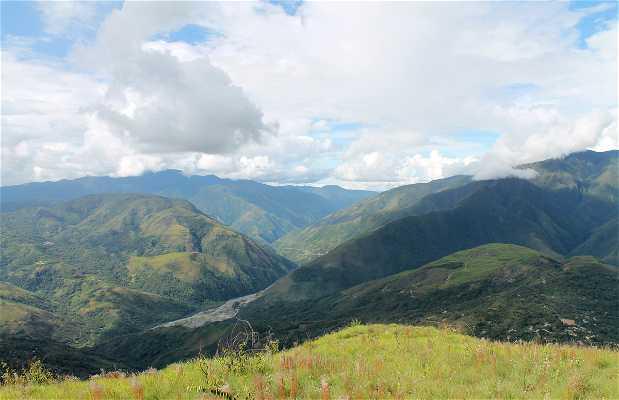Mirador de Coroico, Bolivia