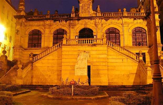 Bibliothèque et maison-musée de menendez pelayo