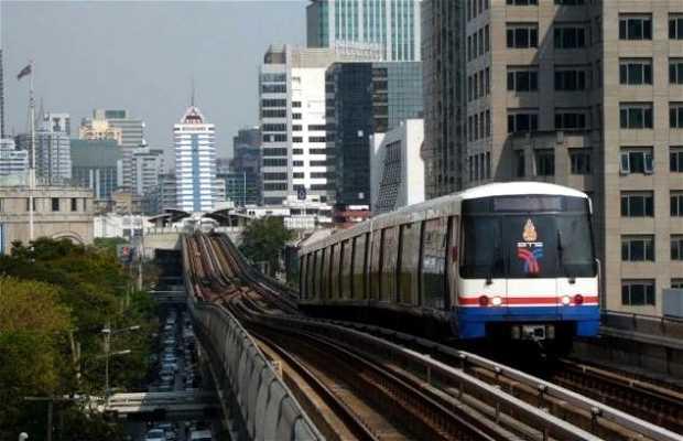 Skytrain a Bangkok