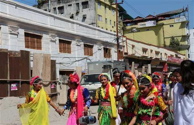 Festival Yenya en Kathmandu