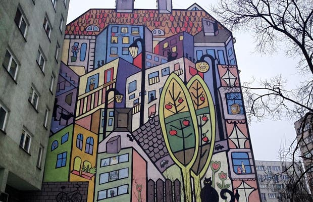Graffitis y murales