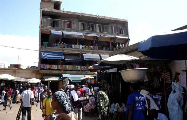 Marché central d'Accra