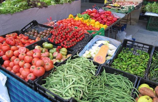 Mercado semanal de Vic