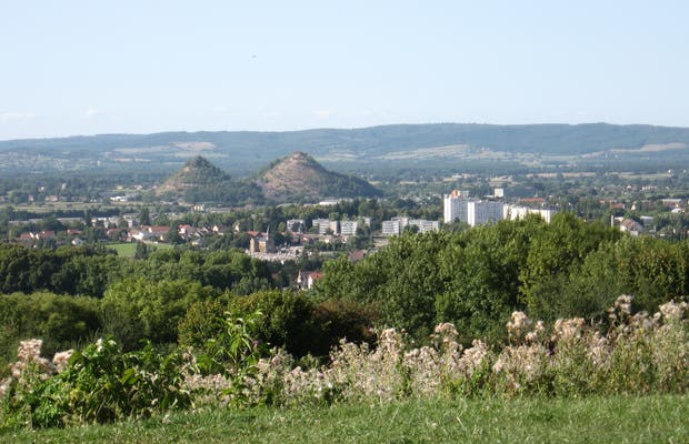 Autun's hills