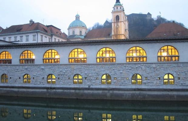 Paseo del río Ljubljanica