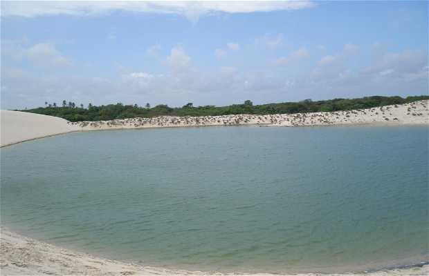 Lac bleu et paradis