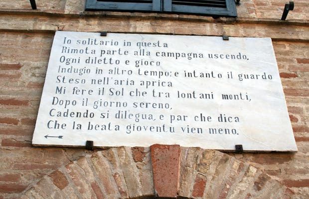 Casa di Giacomo Leopardi