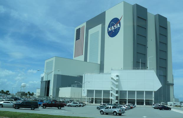 Le Vehicle Assembly Building du Kennedy Space Center