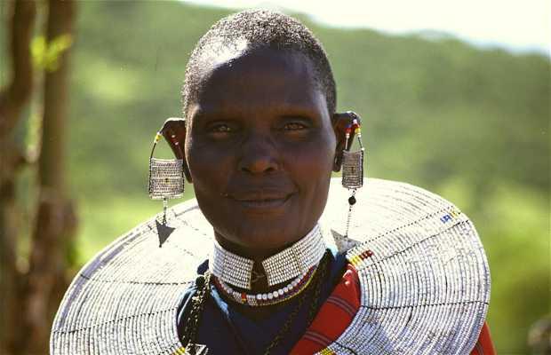 Poblado Masai del Ngorongoro