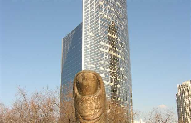 Estatua del Pulgar