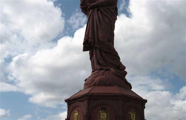 Estatua Nuestra Señora de Francia