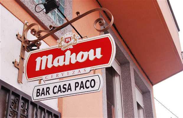 Restaurante Bar Casa Paco