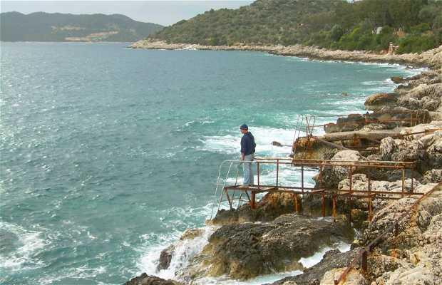 Coast of Kas