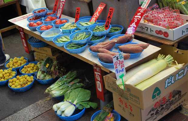 Calles comerciales de Higashi-Awaji