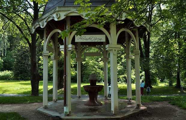 Parque de Mariánské Lazné