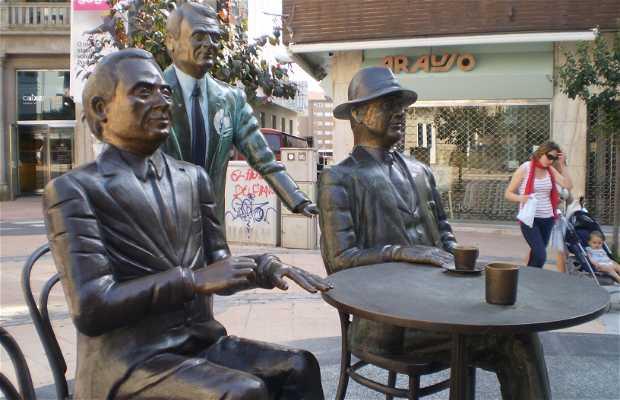 En el Café Moderno