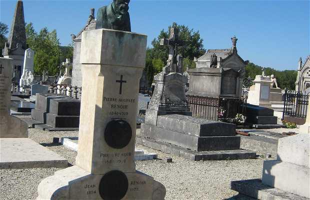 La tombe d'Auguste Renoir