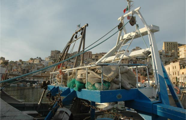 Port marchand de Sciacca