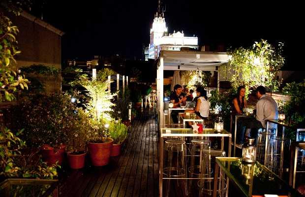 Terraza del Hotel de las Letras