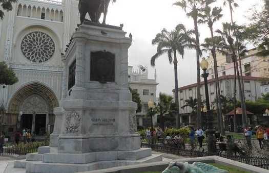 Estatua Simon Bolivar