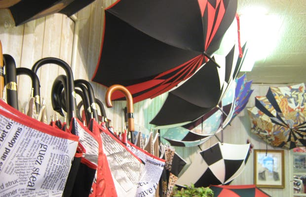 Paraguas artesanales