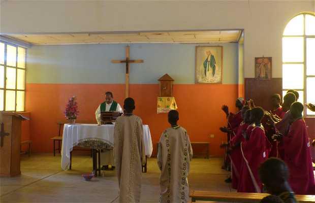 Iglesia católica de Itang